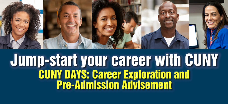 Schedule your FREE session to explore how CUNY can help you achieve your academic and career goals.