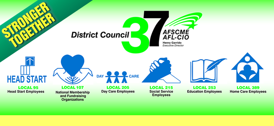 AFSCME DC 1707 unites with AFSCME DC 37. For more information, please CLICK HERE.
