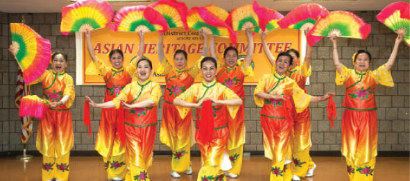 The DC 37 Asian Heritage Committee celebration in May.
